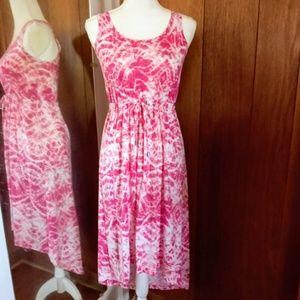 SONOMA Tie Dye Summer Dress Sz PXS